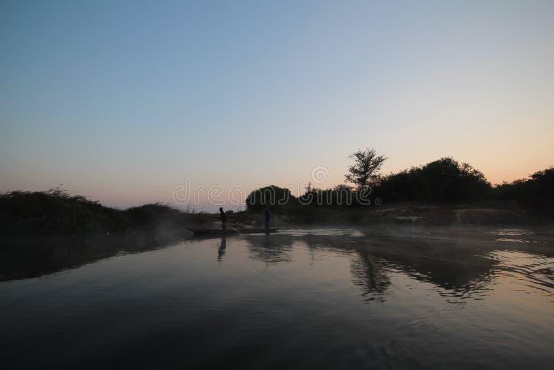 Africa - Zambezi River  - Zambia stock photography