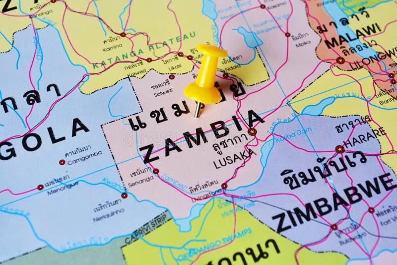 Zambia Map Stock Photo Image Of Lake Border Geography - Zambia map