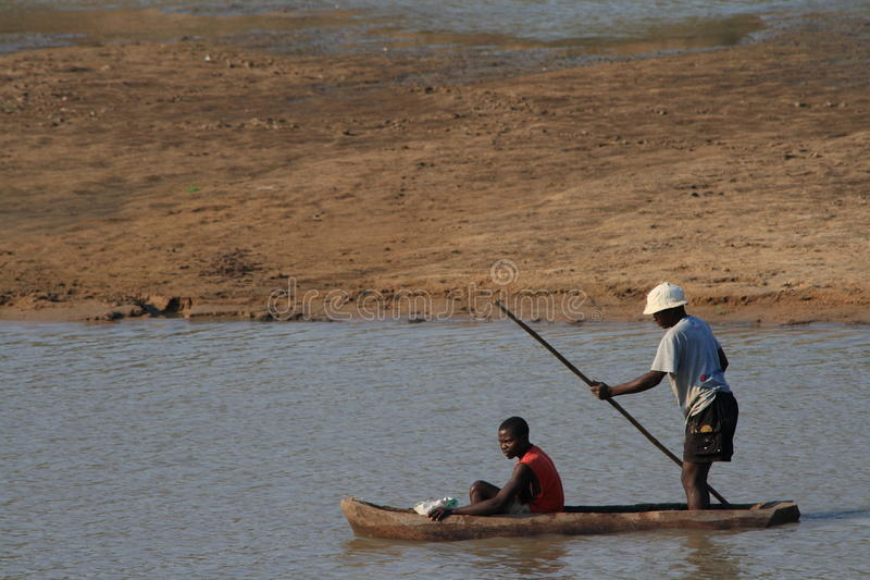 Download Zambian Fishermen Doing Dangerous Work Editorial Photography - Image: 15446017