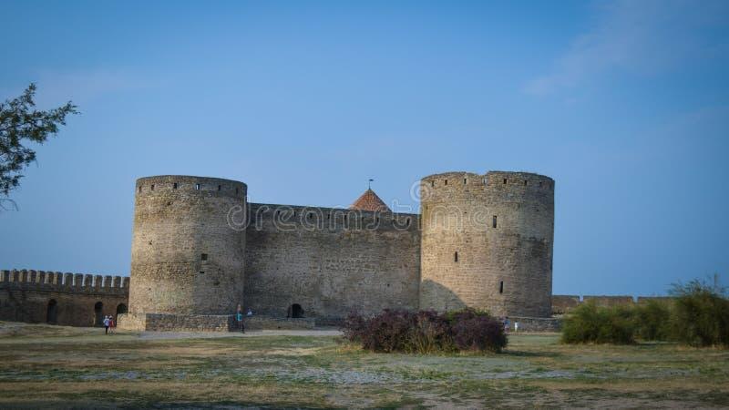 zamek średniowieczny zdjęcie royalty free