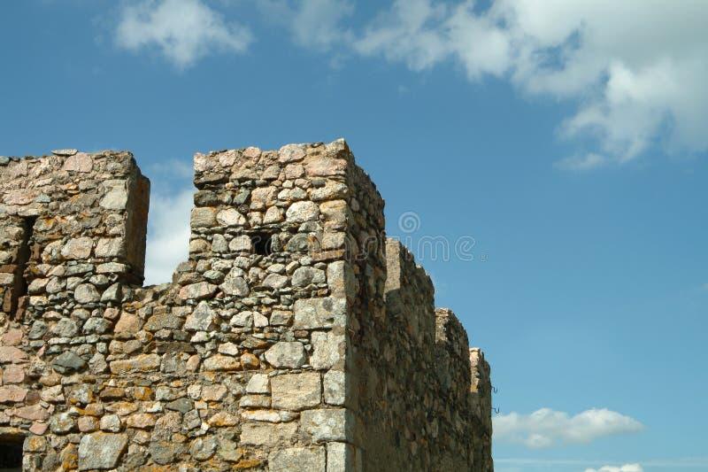 zamek średniowieczny square wieży obraz stock