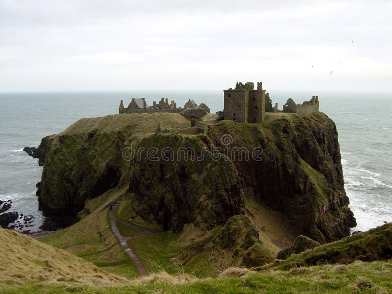 zamek 1 dunnottar zdjęcia royalty free