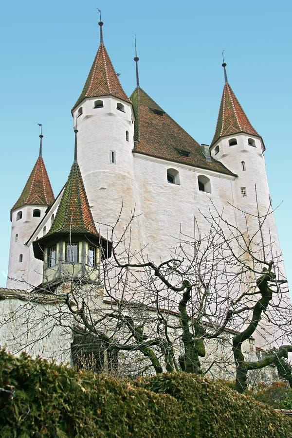 zamek 1 szwajcarzy obrazy stock