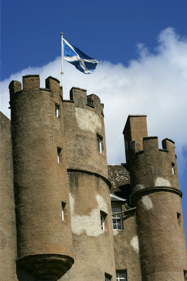 zamek 2 Scotland obrazy stock