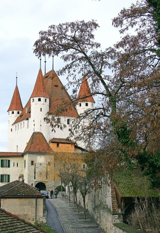 zamek 4 szwajcarski obraz royalty free