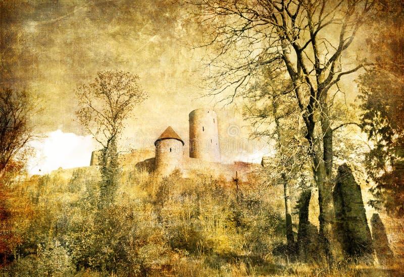 zamek ilustracja wektor