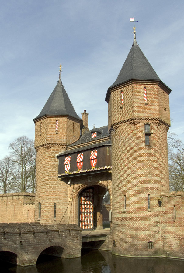 Zamek 7 Holender Zdjęcie Stock