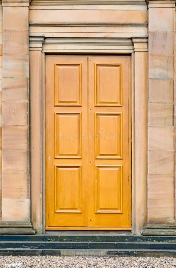zamek antique drzwi zdjęcia stock