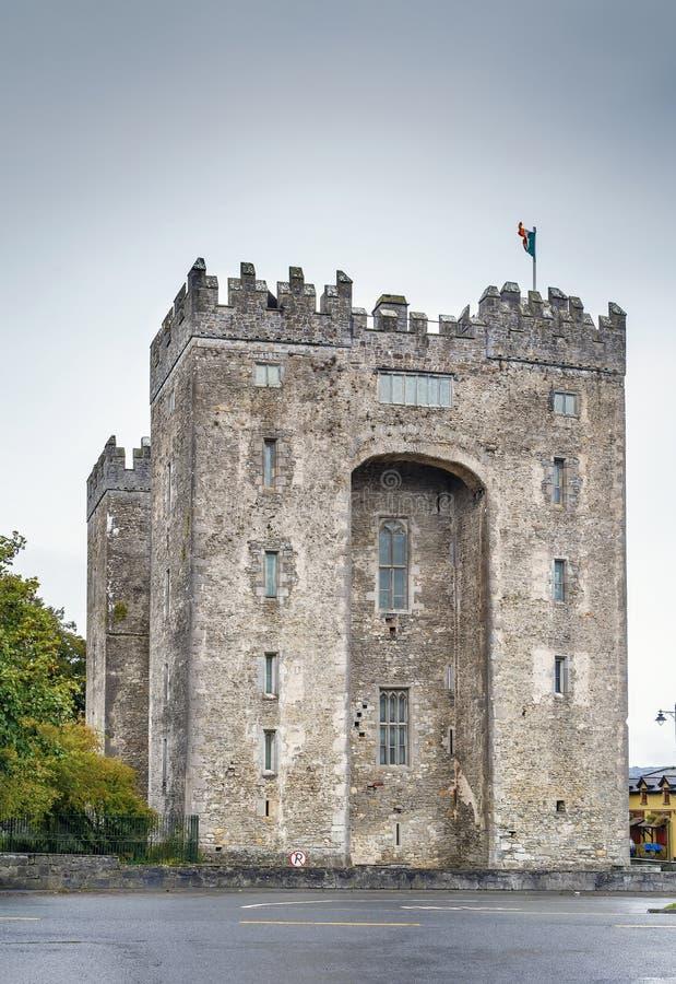 zamek bunratty Ireland zdjęcia stock