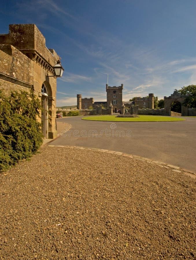zamek culzean zdjęcia royalty free