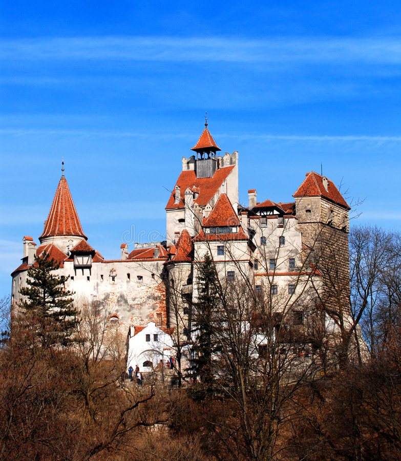zamek Dracula jest otrąb obrazy royalty free