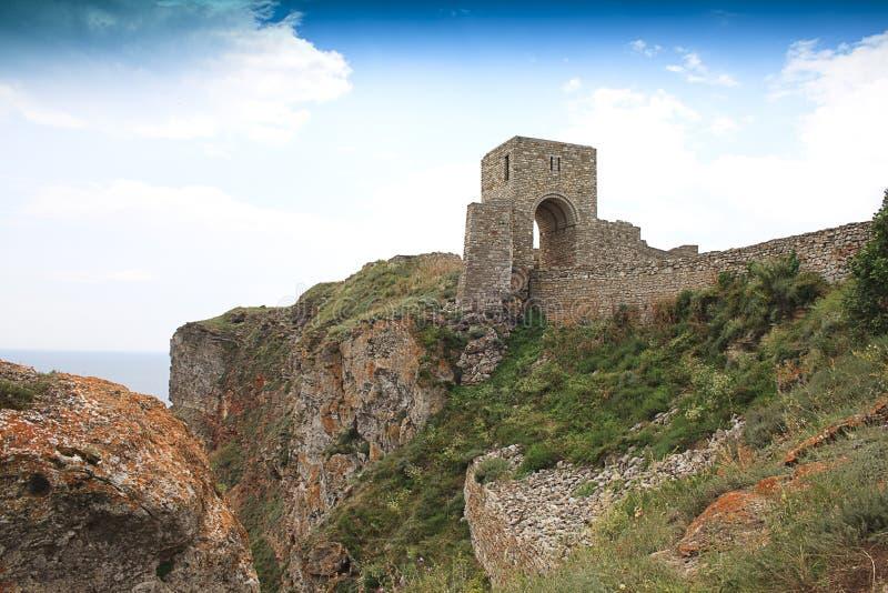 zamek drzwi średniowieczny obraz royalty free