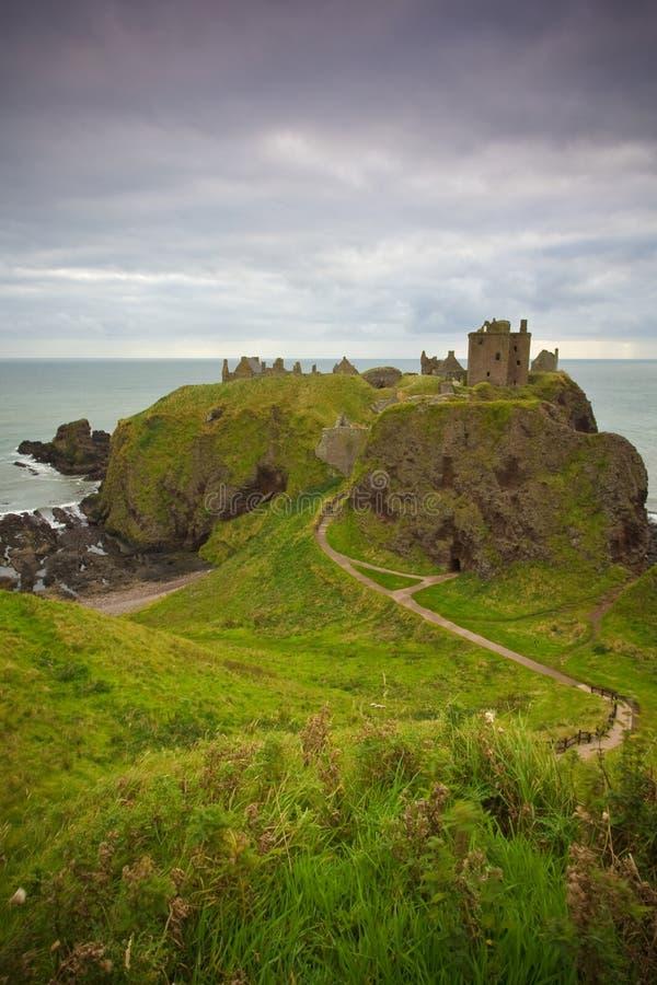 zamek dunnottar obrazy royalty free