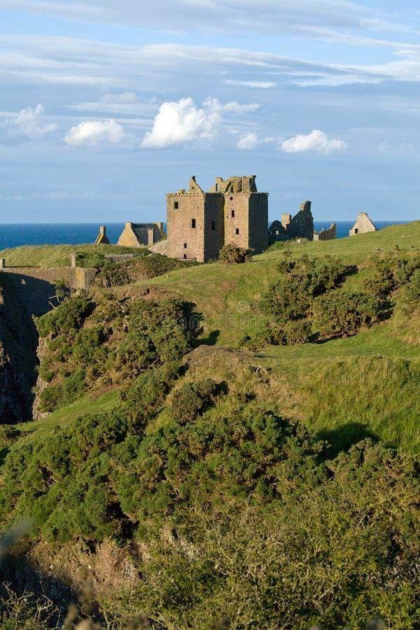 zamek dunottar Scotland obraz stock