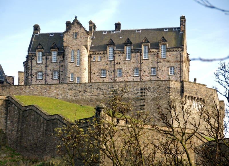 zamek Edinburgh zdjęcia stock