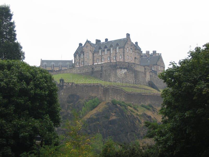zamek Edinburgh zdjęcie stock