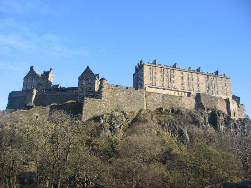 zamek Edinburgh obraz royalty free