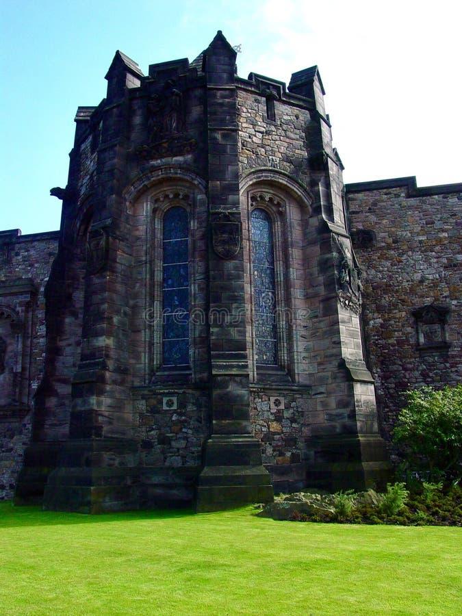 zamek Edinburgh królestwie Scotland united obrazy royalty free