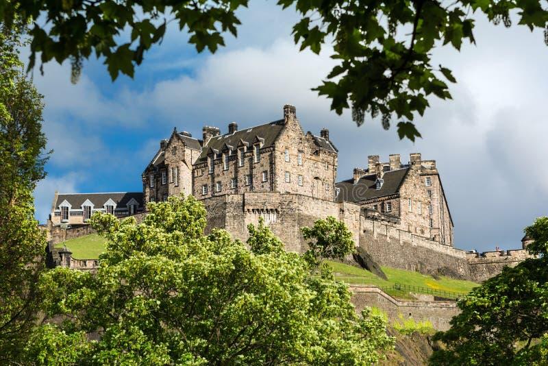 zamek Edinburgh Scotland zdjęcie stock