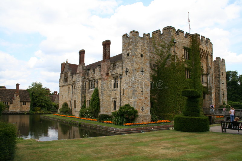 zamek hever zdjęcie stock