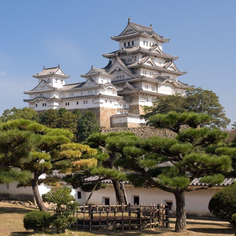 zamek Himeji zdjęcia royalty free