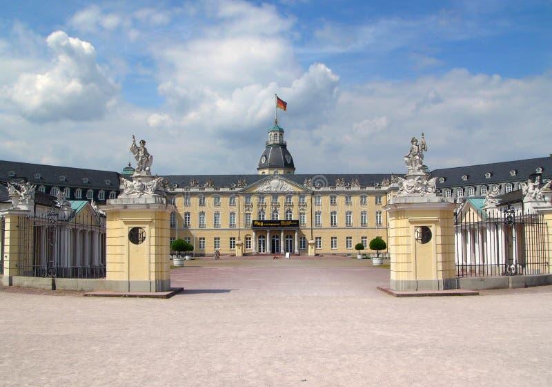 zamek Karlsruhe fotografia royalty free