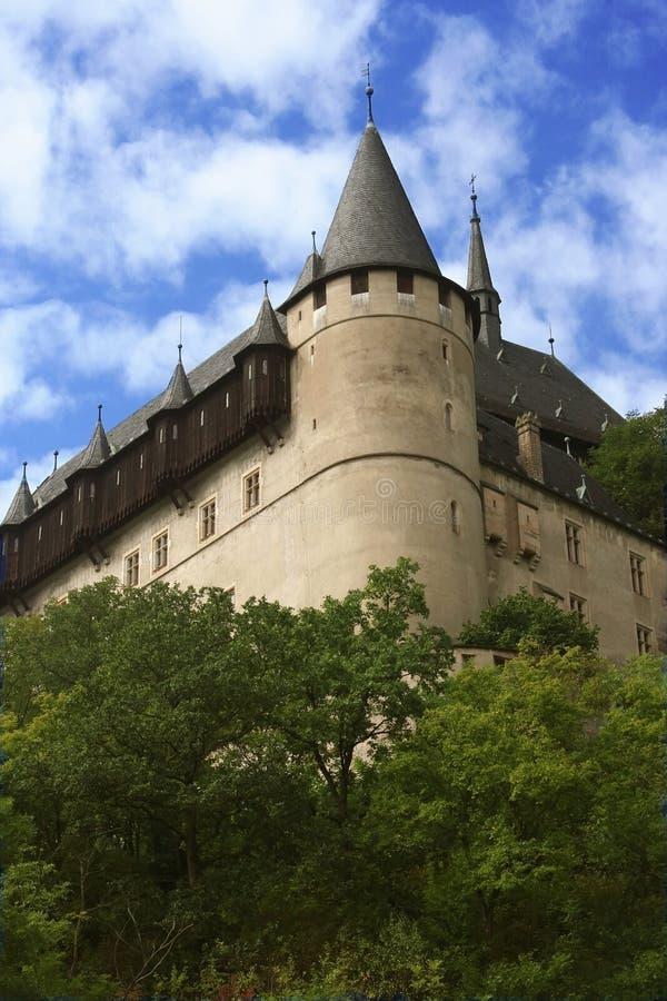 zamek karlstein obraz stock