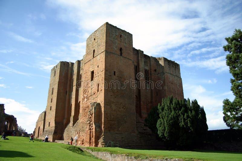 zamek kenilworth zdjęcia royalty free