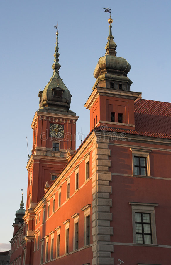 zamek królewski obrazy royalty free