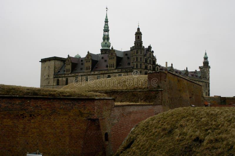 zamek kronborg zdjęcia stock