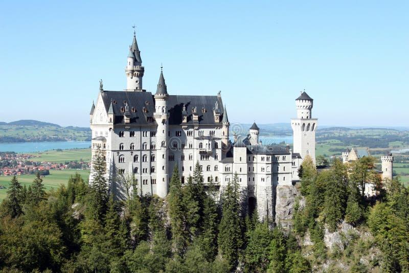 zamek Monachium obrazy royalty free