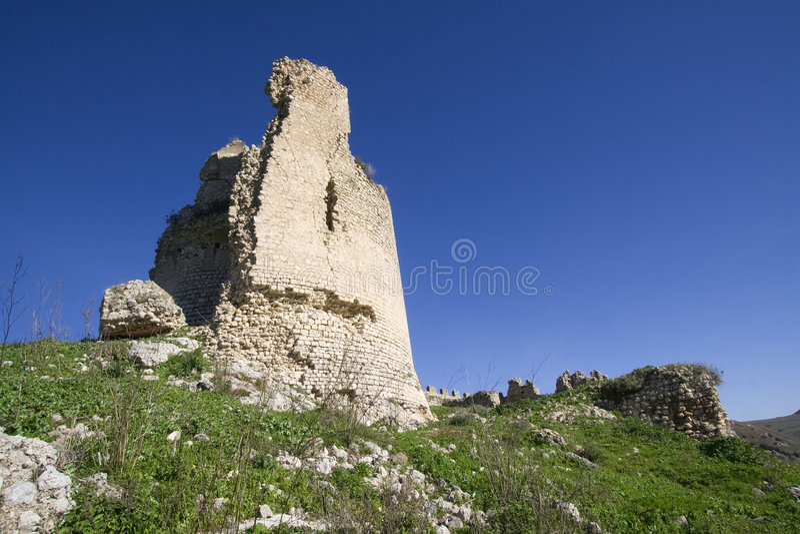 zamek mongialino s zdjęcie royalty free
