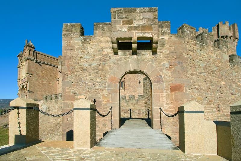 zamek na most jest Javier navarra zdjęcia royalty free