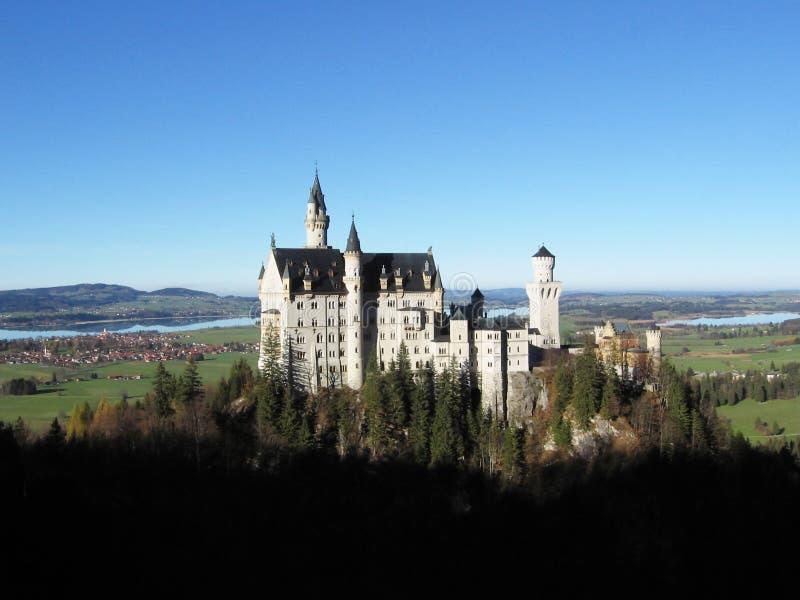 zamek neushchwanstein zdjęcie royalty free