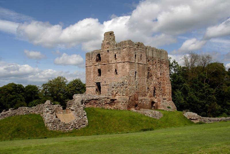 zamek norham obrazy royalty free
