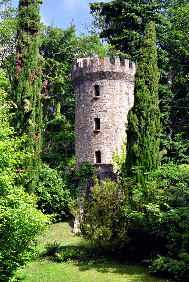 zamek ogród fotografia royalty free