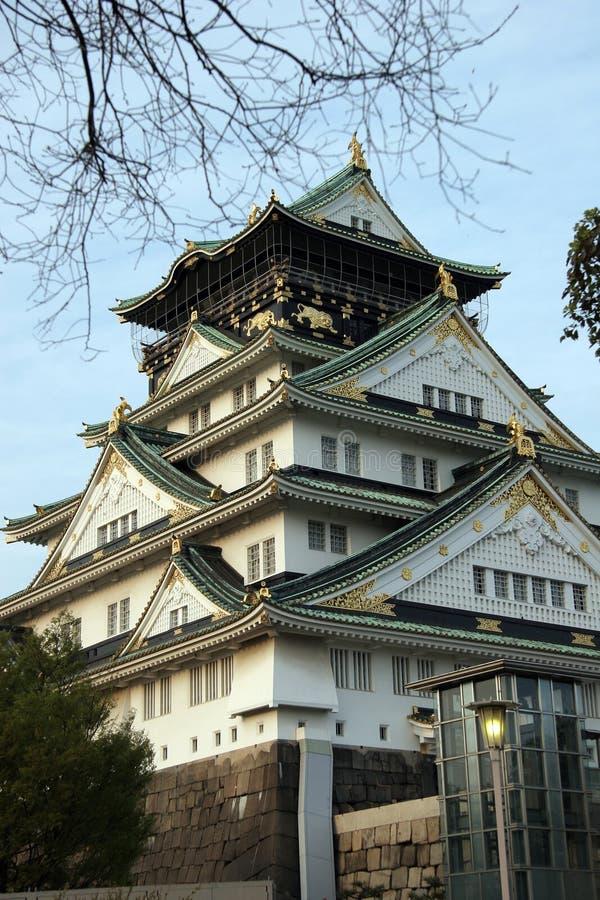 zamek Osaka fotografia royalty free