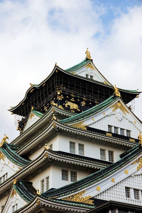 zamek Osaka obrazy stock