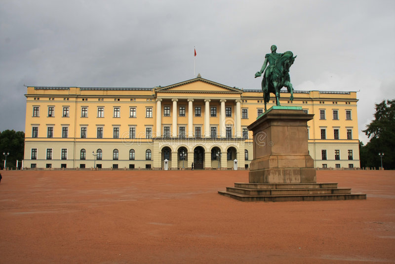 zamek Oslo obraz royalty free