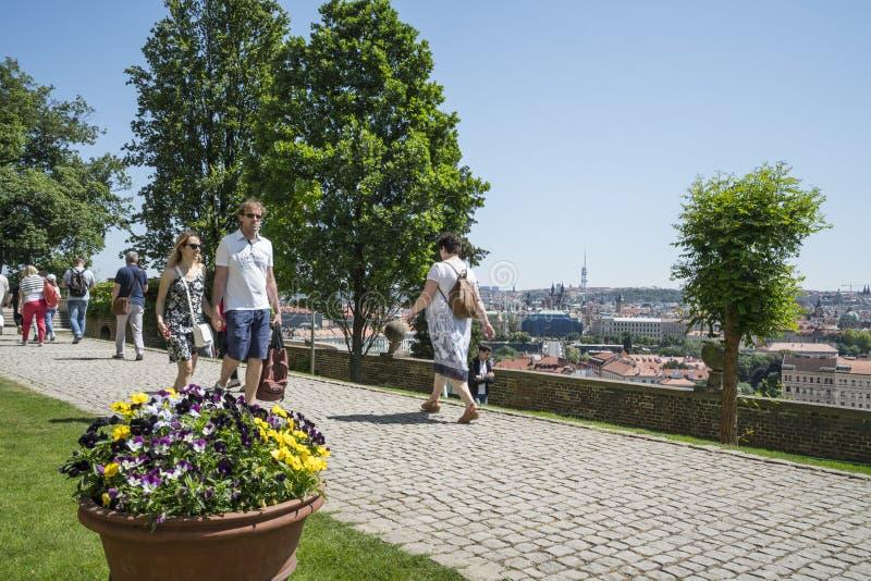zamek Prague zdjęcie stock
