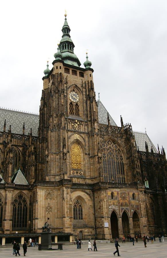 zamek Prague zdjęcia stock