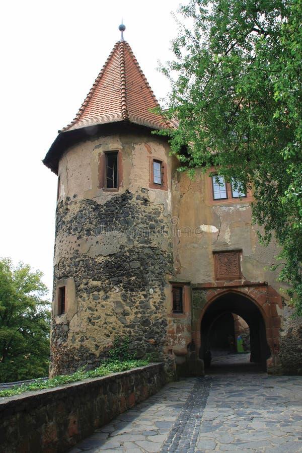 zamek ronneburg obrazy stock