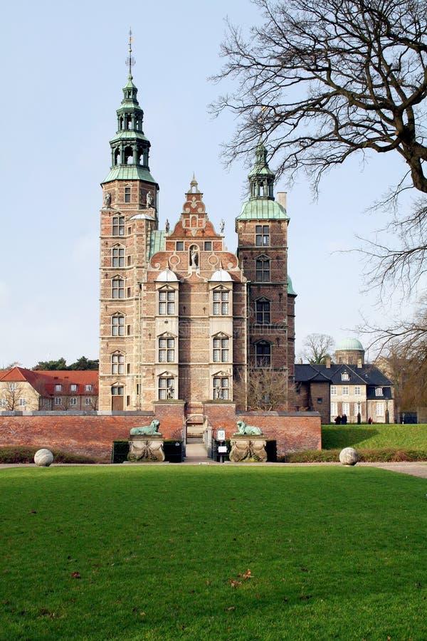 zamek rosenborg obrazy royalty free