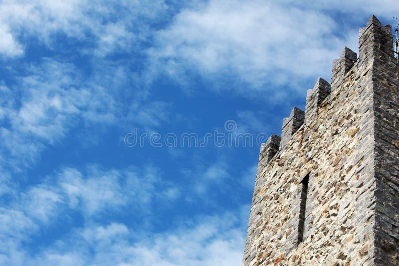 zamek tower zdjęcie stock