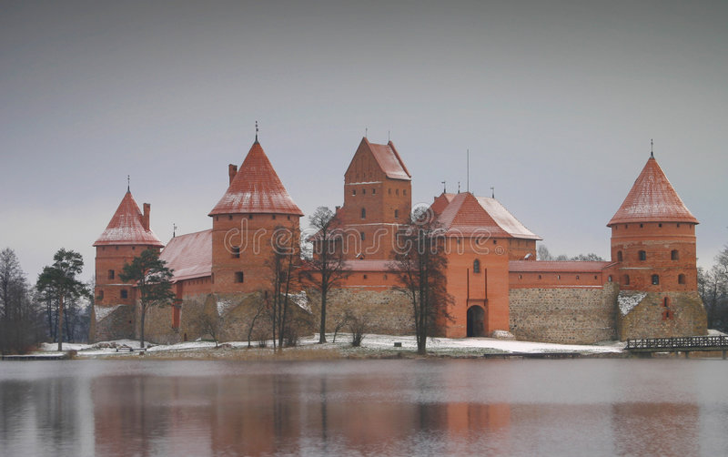 zamek trakai obraz royalty free