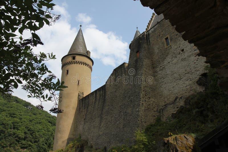 zamek vianden fotografia stock