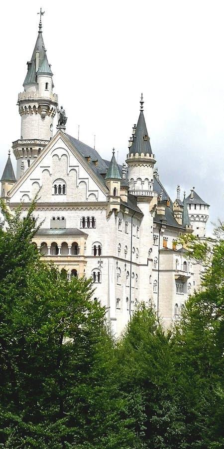Zamek w Bawarii fotografia royalty free
