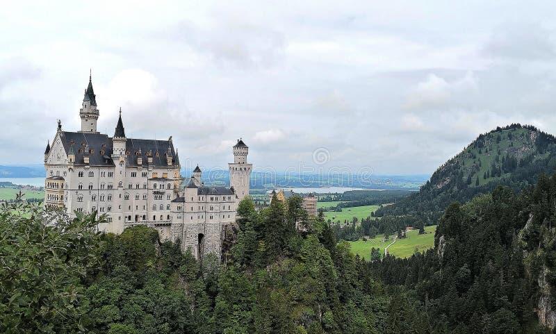 Zamek w Bawarii zdjęcia royalty free
