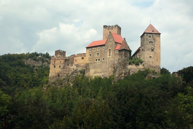 Zamek w Hardegg zdjęcia stock