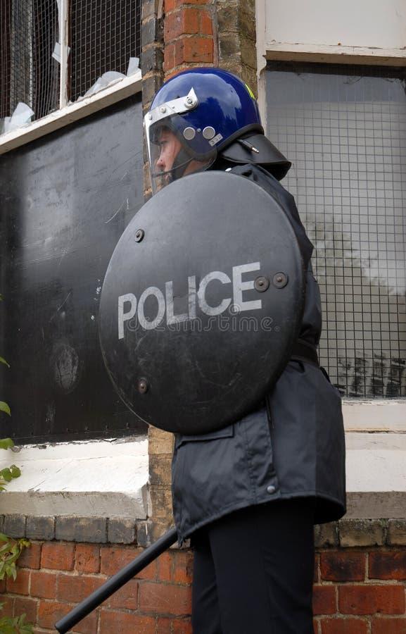 Zamieszka policjant zdjęcia royalty free